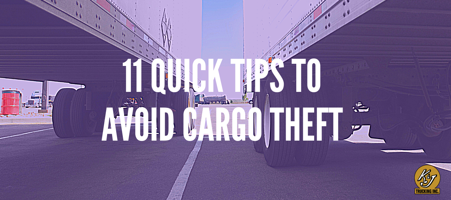 111 Quick Tips to Avoid Cargo Theft on the Road