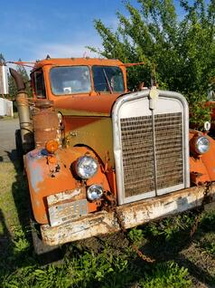 Craig's grandfather's truck