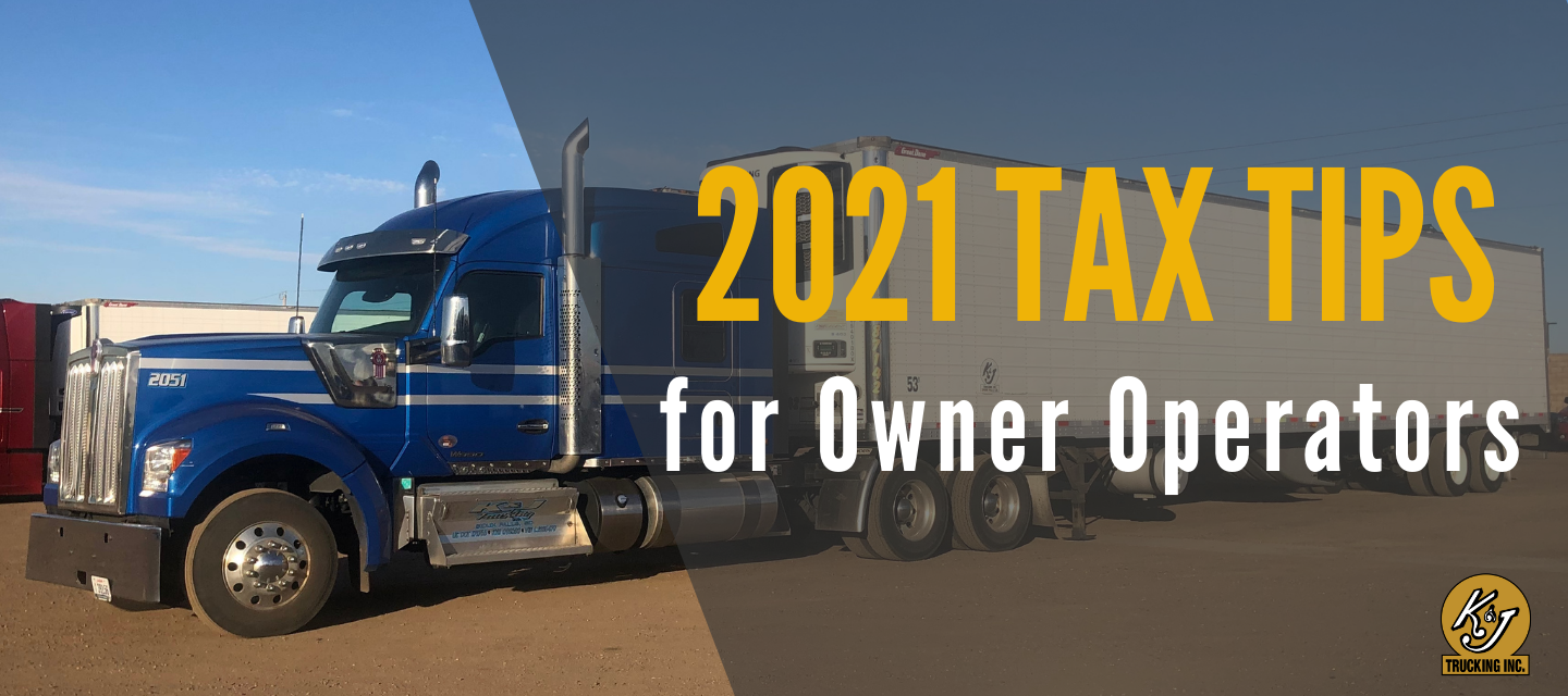 2021 Owner Operator Taxes