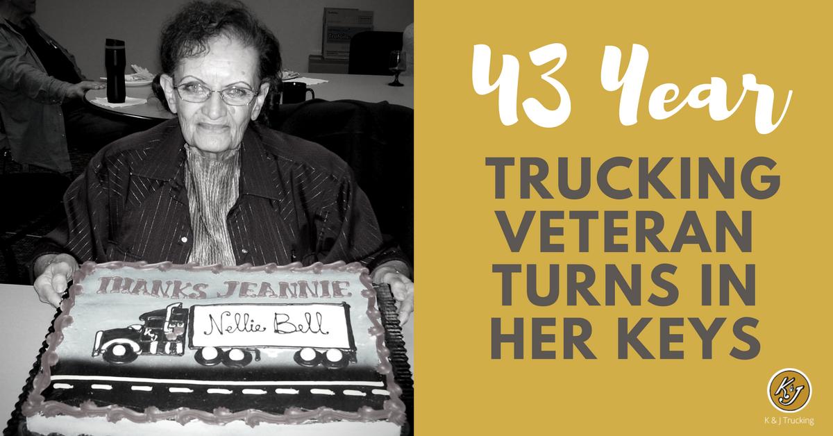43 Year South Dakota Trucking Veteran Turns in Her Keys