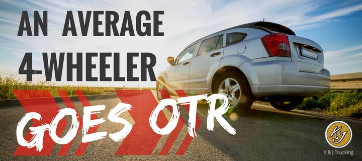 An Average 4-Wheeler Goes OTR - K & J Trucking