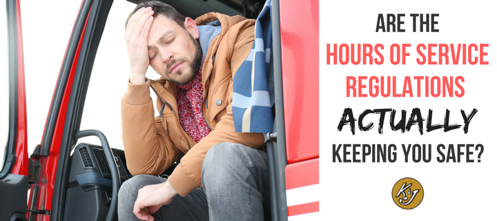 Are the Hours of Service Regulations Actually Keeping You Safe - K & J Trucking