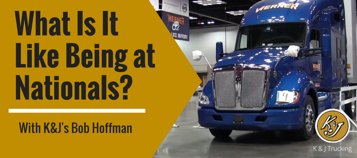 What Is It Like Being in The National Truck Driving Championships? With K&J's Bob Hoffman