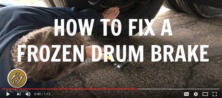 Video on How To Fix a Frozen Drum Brake