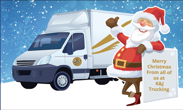 Merry Christmas From K&J Trucking!