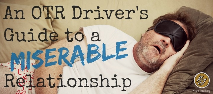 An OTR Driver's Guide to a Miserable Relationship