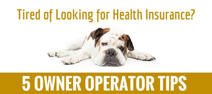 5 Owner Operator Tips for Finding Health Insurance - K&J Trucking