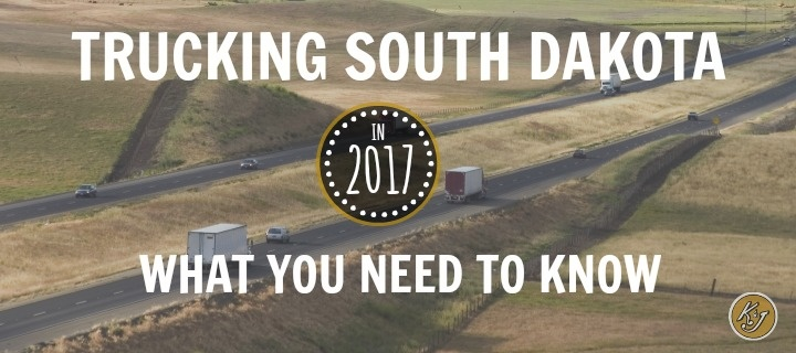 Trucking South Dakota in 2017 - What You Need to Know - K&J Trucking
