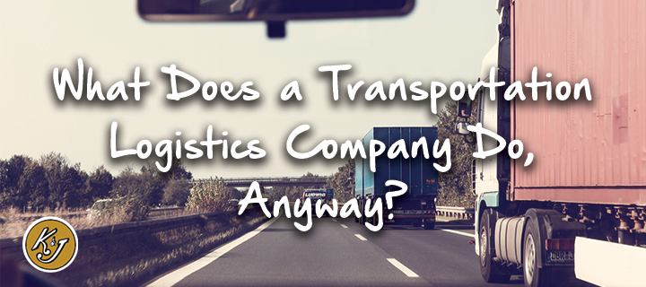 what does a logistics company do