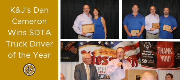 K&J's Dan Cameron Wins SDTA Truck Driver of the Year (1)