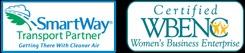 smartway-and-wbenc-logos