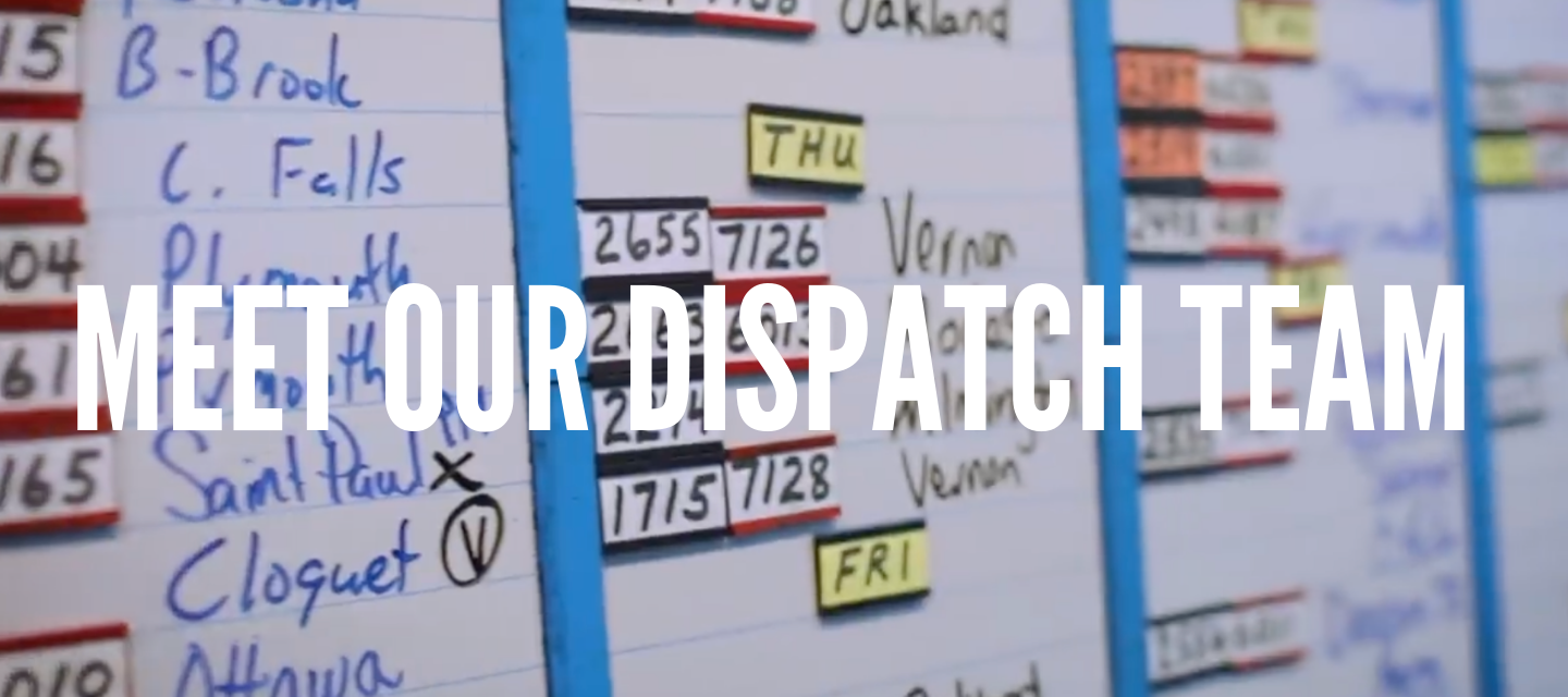 Meet our Dispatch Team