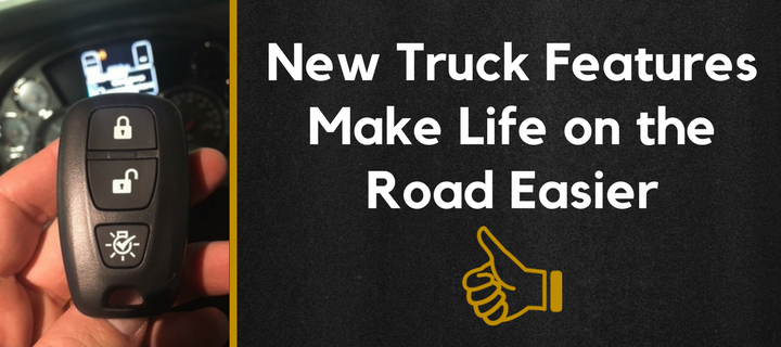 New Truck Features Make Life on the Road Easier